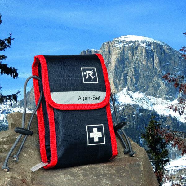alpin set verbandtasche erste hilfe tasche skifahrer. Black Bedroom Furniture Sets. Home Design Ideas