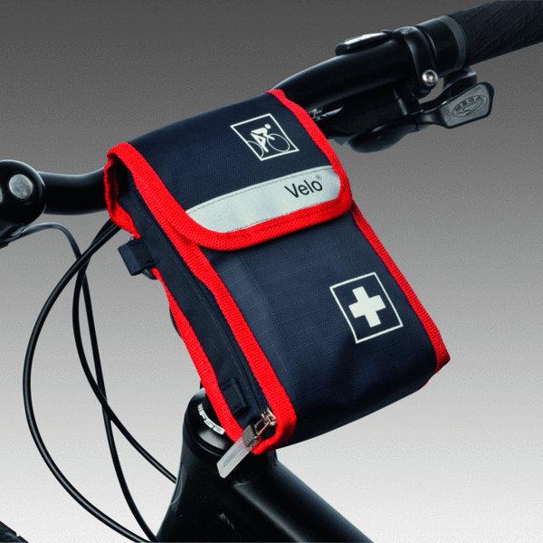 velo fahrradverbandtasche erste hilfe tache fahrradfahrer. Black Bedroom Furniture Sets. Home Design Ideas