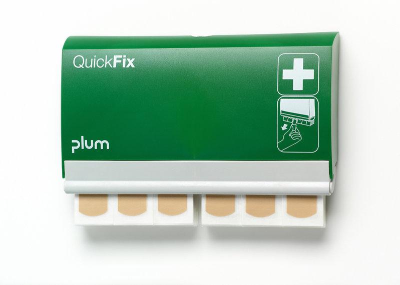 PLUM QuickFix Pflasterspender, 90 wasserfeste Strips
