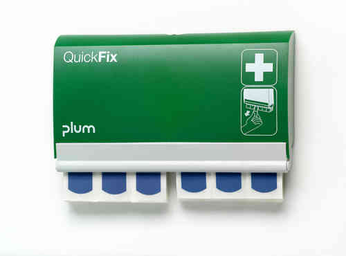 PLUM QuickFix Pflasterspender, 90 detectable Strips