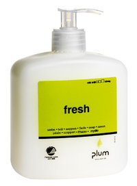 Hautreinigung Plum Fresh, Cremeseife, 600 ml