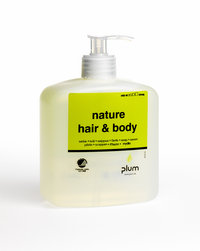 Hautreinigung - Plum Nature Hair & Body, 500 ml