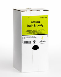 Hautreinigung - Plum Nature Hair & Body, 1400 ml bag