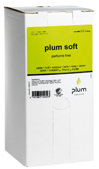 Hautreinigung - Plum Soft, Cremeseife, 1400 ml bag
