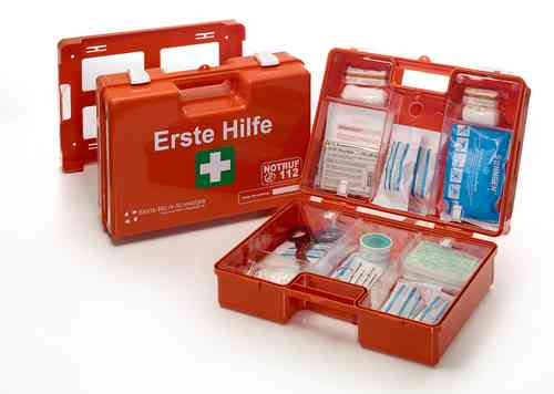 """Erste Hilfe Koffer """"SAN"""",DIN 13157 von Söhngen, 20 Jahre steril"""
