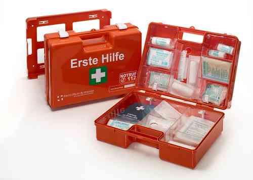 """Erste Hilfe Koffer DIN 13169, Typ """"MULTI"""" orange"""