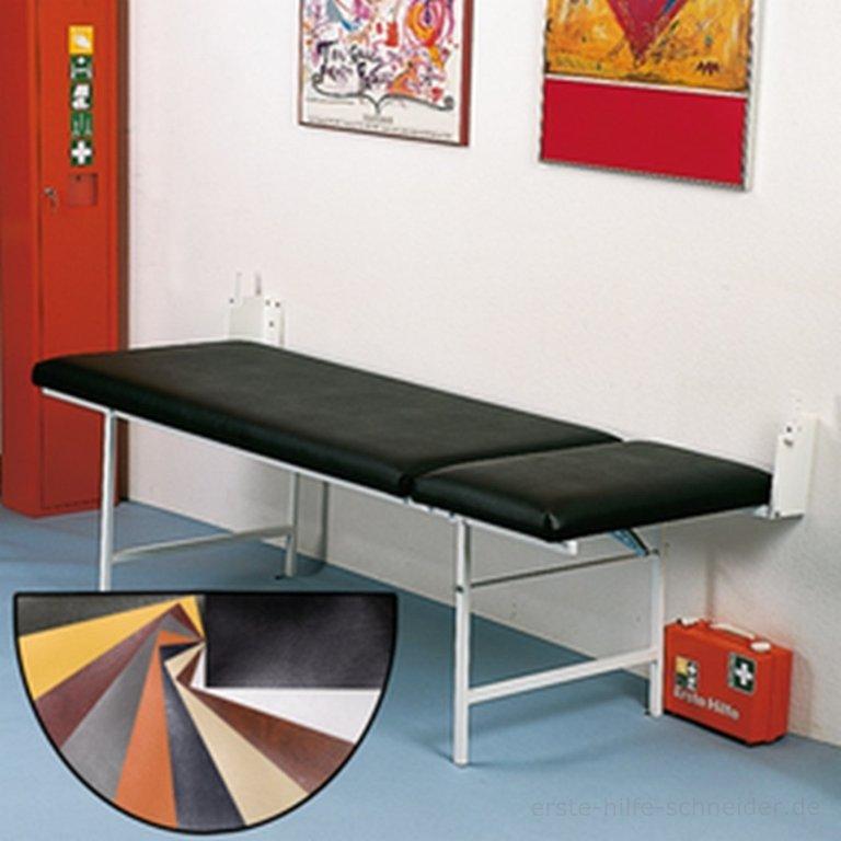 top wandklapp untersuchungsliege kopf fu verstellbar. Black Bedroom Furniture Sets. Home Design Ideas