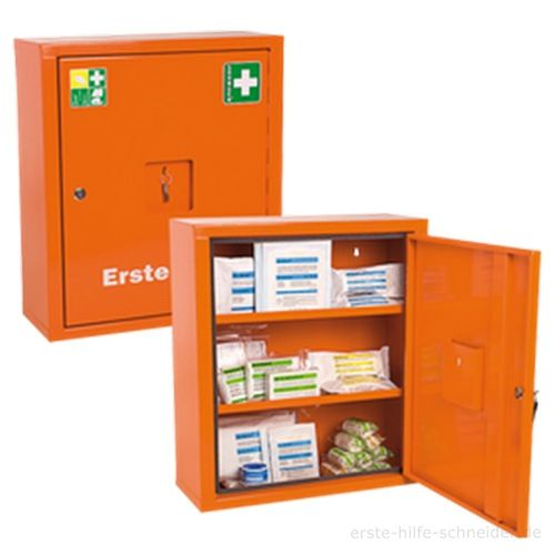 Verbandschrank EUROSAFE orange, Ö-Norm Z 1020-2