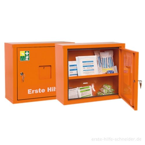 Verbandschrank JUNIORSAFE orange, Ö-Norm Z 1020-1