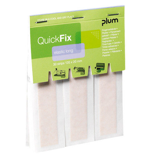 PLUM QuickFix Elastic Long Refill, 1 VE = 6 Stück ( 5508 )