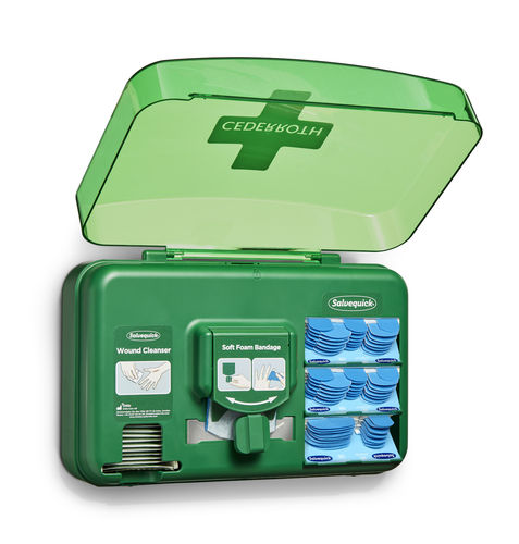 Cederroth Wound Care Dispenser detektierbar blau